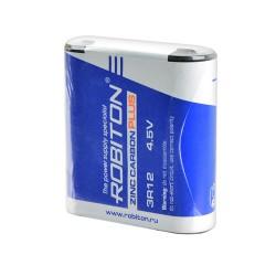 Батарейка 3R12(квадратная) ROBITON 1 шт./4,5В. солевая