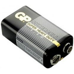 Батарейка 6F22(крона) GP Supercell 1 шт./9В. солевая