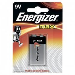 Батарейка 6LR61(крона) Energizer MAX 1 шт./9В. щелочная