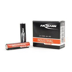 Батарейки AAA(LR03) ANSMANN Industrial Alkaline упак 10 шт./1,5В. щелочные