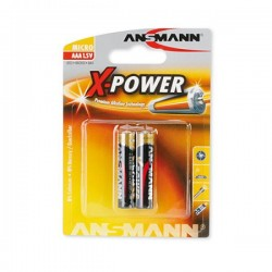 Батарейки AAA(LR03) ANSMANN X-Power упак 2 шт./1,5В. щелочные