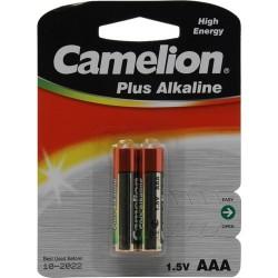 Батарейки AAA(LR03) CAMELION Plus Alkaline упак 24 шт./1,5В. щелочные