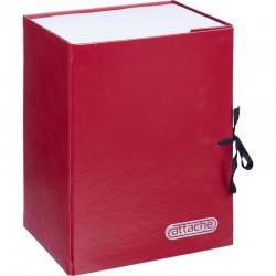 Короб архивный 15см. ATTACHE красный 117928