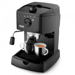 Кофеварка Delonghi EC 146 Black (1050Вт,1л,15 бар,рожковая,тип кофе: молотый)