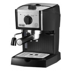 Кофеварка Delonghi EC 157 Black (1100Вт,1л,15 бар,рожковая,тип кофе: молотый/чалды)