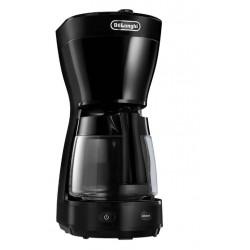 Кофеварка Delonghi ICM 16210 Black (1000Вт,1.25л,капельная,тип кофе: молотый)