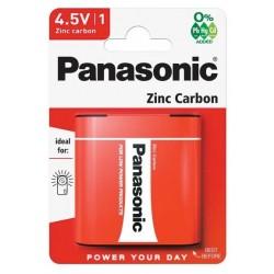 Батарейка 3R12(квадратная) PANASONIC 1 шт./4,5В. солевая