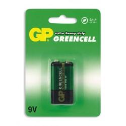 Батарейка 6F22(крона) GP Greencell 1 шт./9В. солевая