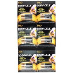 Батарейки AAA(LR03) DURACELL отрывной блистер упак 12 шт./1,5В. щелочные