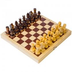 Игра настольная Шашки, Орловские шахматы, деревянные, с доской С-5а/D-1