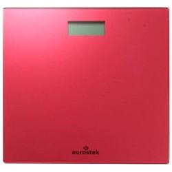 Весы Eurostek EBS-2802 Red стекло, точность 0,1кг, макс. 180кг, авто вкл/выкл