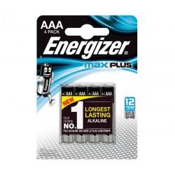 Батарейки AAA(LR03) ENERGIZER MAX+ 4 шт./1,5В. щелочные
