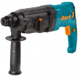 Перфоратор Bort BHD-800x2 800Вт, 3 реж., 3Дж, 0-1100 об/мин, 0-5000 уд/мин, реверс, SDS-plus