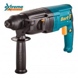 Перфоратор Bort BHD-920X 900Вт, 3 реж., 3.5Дж, 0-900 об/мин, 0-5000 уд/мин, реверс, SDS-plus