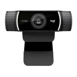 Веб-камера Logitech C922 Pro Stream 2МП,1920*1080,микрофон,автофокус,креп.на монитор,черная (960-001088)