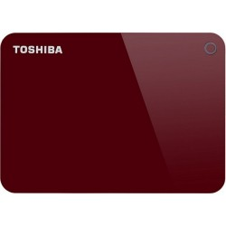 """Внешний жесткий диск Toshiba HDTC940ER3CA красный Canvio Advance (USB3.0,2.5"""",4TB)"""