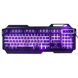 Игровая клавиатура USB Dialog Gan-Kata KGK-25U мембранная, подсветка, корпус металл Black