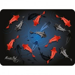 Коврик для мыши Dialog PM-H17 fish тканевый (285x215x3) рисунок
