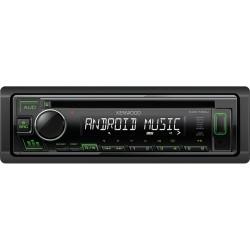 Автомагнитола Kenwood KDC-130UG 1DIN, 4x50Вт, MP3, CD, FM, USB, AUX, съемная панель