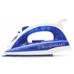 Утюг Galaxy GL 6121 Blue (1600Вт,паровой удар,керамика)