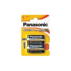 Батарейки C(LR14) PANASONIC Alcaline Power 2 шт./1,5В. щелочная