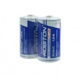 Батарейки C(R14) ROBITON Plus упак 2 шт./1,5В. солевая