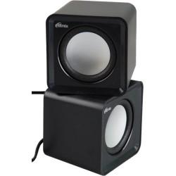 Актив.колонки 2.0 Ritmix SP-2020 5Вт, питание от USB, пластик, Black
