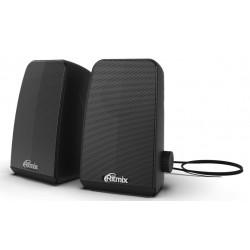Актив.колонки 2.0 Ritmix SP-2075 6Вт, питание от USB, пластик, Black