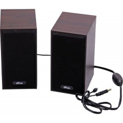 Актив.колонки 2.0 Ritmix SP-2011w 6Вт, питание от USB, MDF, Dark Brown