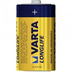 Батарейка D(LR20) VARTA LONGLIFE 1 шт./1,5В. щелочная