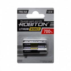 Батарейки AA(FR6) ROBITON Winner 2 шт./1,5В. литиевая