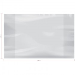 Обложка ПП Спейс 225*355мм, 70мкм, для дневников и учебников мл. классов, PP 225.70