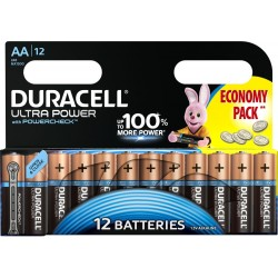 Батарейки AA(LR6) DURACELL Ultra Power упак 12 шт./1,5В. щелочные
