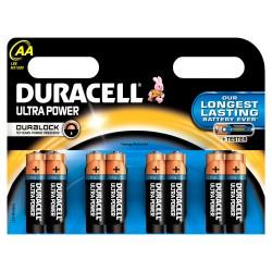 Батарейки AA(LR6) DURACELL Ultra Power упак 8 шт./1,5В. щелочные