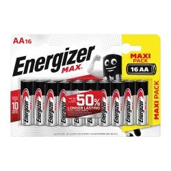 Батарейки AA(LR6) ENERGIZER MAX E91 упак 16 шт./1,5В. щелочные