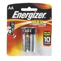 Батарейки AA(LR6) ENERGIZER MAX E91 упак 2шт./1,5В. щелочные