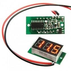 модуль DVM036А-R/вольтметр цифровой 4,5-30в красный