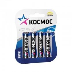Батарейки AA(LR6) КОСМОС CLASSIC упак 4 шт./1,5В. щелочные