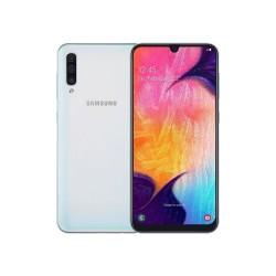 """Смартфон Samsung Galaxy A50 64GB SM-A505F Белый 2sim/6.4""""/2220*1080/8х2.3ГГц/4Gb/64Gb/mSD/25Мп/Bt"""