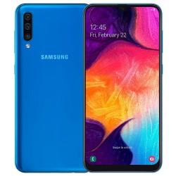 "Смартфон Samsung Galaxy A50 128GB SM-A505F Синий 2sim/6.4""/2220*1080/8х2.3ГГц/6Gb/128Gb/mSD/25Мп/Bt"