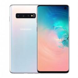 "Смартфон Samsung Galaxy S10 G973F 8/128GB Перламутр 2sim/6.1""/3040*1440/8*2.7ГГц/8Gb/128Gb/mSD/16+12+12Мп"