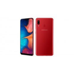 """Смартфон Samsung Galaxy A20 32GB SM-A205F Красный 2sim/6.4""""/1560*720/8х1.6ГГц/3Gb/32Gb/mSD/16Мп/Bt"""