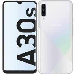 "Смартфон Samsung Galaxy A30s 32GB SM-A307F Белый 2sim/6.4""/1560*720/8х1.6ГГц/3Gb/32Gb/mSD/25+5+8Мп/NFC/And9.0/4000mAh"
