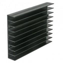 Радиатор 100*70*15мм, алюминий, BLA033-100