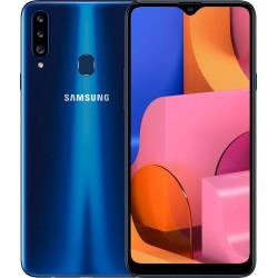 "Смартфон Samsung Galaxy A20s 32GB SM-A207F Синий 2sim/6.5""/1560*720/8х1.8ГГц/3Gb/32Gb/mSD/13+8+5Мп/And9.0/4000mAh"