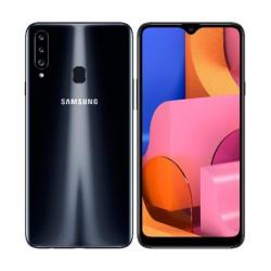 "Смартфон Samsung Galaxy A20s 32GB SM-A207F Черный 2sim/6.5""/1560*720/8х1.8ГГц/3Gb/32Gb/mSD/13+8+5Мп/And9.0/4000mAh"
