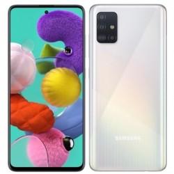 """Смартфон Samsung Galaxy A51 64GB SM-A515F Белый 2sim/6.5""""/2400*1080/8х2.3ГГц/4Gb/64Gb/mSD/48+12+5"""