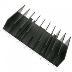 Радиатор 70*50*15мм, алюминий, BLA033-50