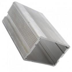Радиатор 100*70*45мм, полый прямоугольный профиль, алюминий, BLA457-100