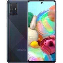 "Смартфон Samsung Galaxy A71 SM-A715F Черный 2sim/6.7""/2400*1080/8х2.2ГГц/6Gb/128Gb/mSD/64+12+5+5Мп"